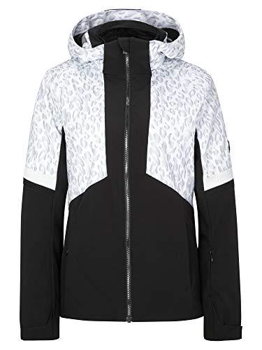 Ziener Damen Tahira Ski Snowboard-Jacke   Atmungsaktiv, Wasserdicht, Black.Leo, 38