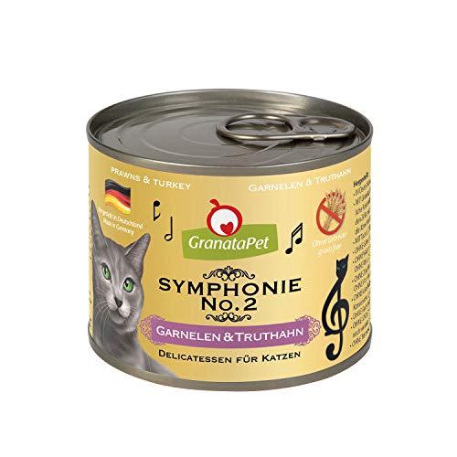 GranataPet Symphonie No. 2 Garnelen & Truthahn in natürlichem Gelee, 6er Pack (6 x 200 g)