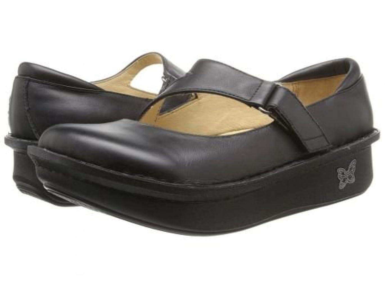 メンタルショート自分Alegria(アレグリア) レディース 女性用 シューズ 靴 クロッグ ミュール Dayna Professional - Black Napa Leather 42 (US Women's 11) Wide [並行輸入品]