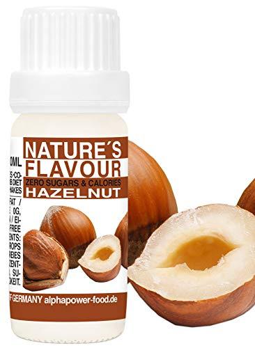 Flavour Drops Haselnuss - Hazelnut Flavdrops I Natürliches Flave Aroma I Geschmacks Tropfen I Backaroma & Lebensmittelaroma, Zuckerfrei als liquid Konzentrat
