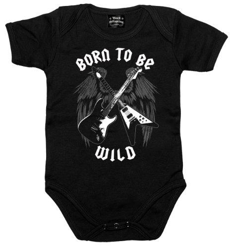 Chameleon Clothing -  Maglietta  - Bebè maschietto Nero  nero
