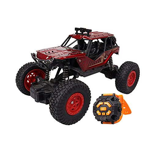 KGUANG 1/20 Vehículo de control remoto de juguete de PVC con coche ligero RC 2.4G Cochecito de suspensión Bigfoot de alta velocidad con tracción en dos ruedas Todas las condiciones de la carretera Cam