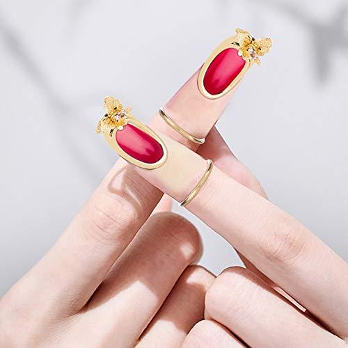 Janly Clearance Sale Anillos para mujer, muchos estilos opcionales creativos para resaltar tu encanto, joyería y relojes para Navidad, San Valentín (B)