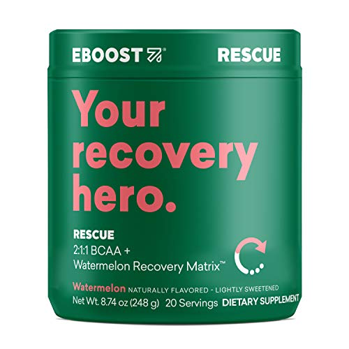 Rescue Natural Vegan 5G BCAA Recovery Powder Supplement review