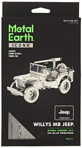 Faszination IconX 3D Metallmodellbausatz - Willys MB Jeep (ICX107)