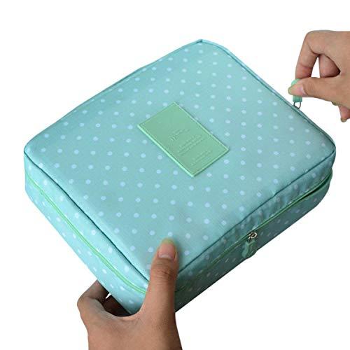 special shine-shop cosmetic-bagsBolsa de almacenamiento de viaje con cremallera, portátil, organizador de maquillaje, 16.5cmx21cmx7cm6, Como se ve en la foto,