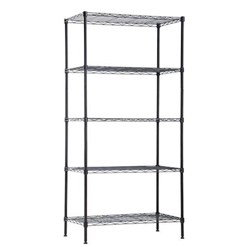BestOffice Wire Shelving Unit Metal Shelf Organize
