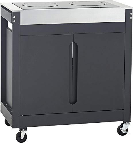 Barbecook Induktion Kochfeld, Outdoor Küche, schwarz, 84x45x90 cm, 2239440000