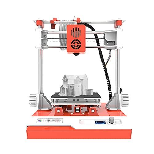 Mini impresora 3D - Kit de impresora de escritorio K2 Mini 3D, tamaño de impresión de 100X100X100 mm, impresoras 3D DIY para educación en el hogar(EU)