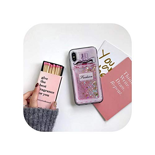 Liquid Quicksand - Carcasa para Samsung Galaxy S20 FE S10 S9 S8 S7 S6 Edge Note 5 8 9 10 20 Plus Pro Ultra Lite 5G Silicona Suave Funda Unicorn Perfume S8 Plus