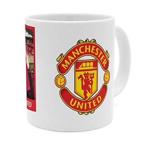 PhotoFancy Tasse Manchester United mit Namen personalisiert (Manchester United FC Manager)