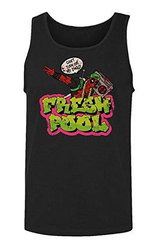 Sunyuer Der Fresh-Pool-Held Männer kann Mein Swag-lustiges Cartoon-Bild-Mode-Druck-Trägershirt Nicht ausschalten