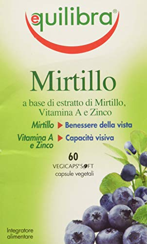 Equilibra Mirtillo - Flacone 60 Perle Vegicaps