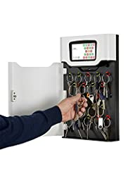 Type: Key Cabinet Management System Touch screen Interface Saves up to 250,000 audit events 21 robust iFobs Compact steel housing