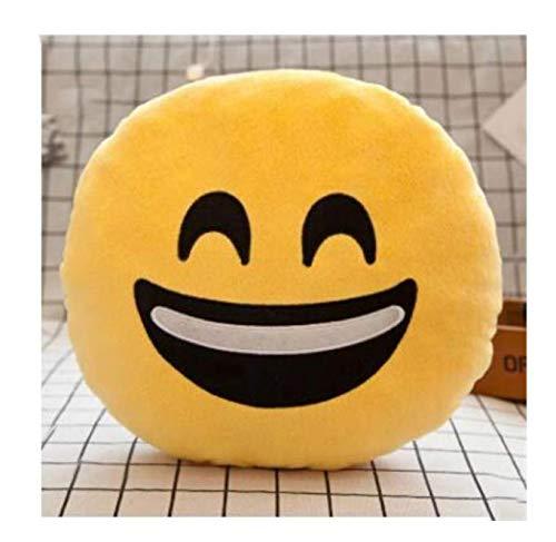 Cara Emoji Almohada Suave Peluche Emoticon Cojín