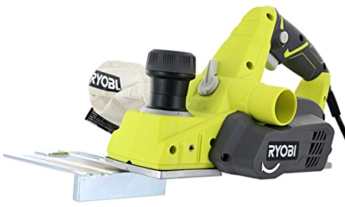 "Ryobi HPL52K 6 Amp 16,500 RPM 3 1/4"" Corded Hand Planer w/ Kickstand and Dual Dust Ports"