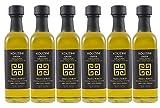 Organic (6pack-60ml Mini Bottles) Kouzini Greek Organic Extra Virgin Olive Oil Minis