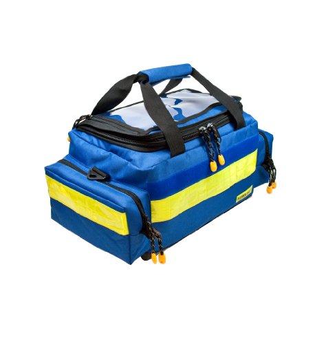 AEROcase® - Pro1R BM1 - Notfalltasche Polyester Gr. M BLAU - Rettungsdienst Notfall Rucksack -