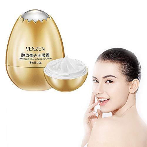 Ei-Hefe-Masken-Creme, Feuchtigkeitsspendendes Festziehen, Aufhellende Hautgesichtscreme für die Hautpflege. (4 Pcs)