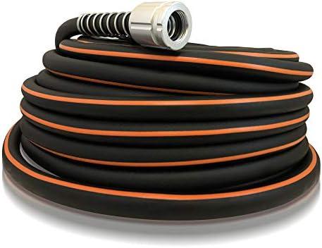Flexon FLXP58100CN Flextreme Pro Performance Rubber Garden Hose 100 ft Black product image