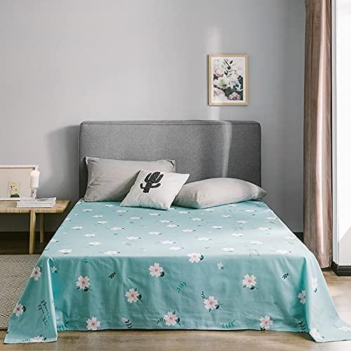 IKITOBI Sábanas bajeras dobles, sábanas bajeras, bajeras pequeñas, 200 x 230 cm
