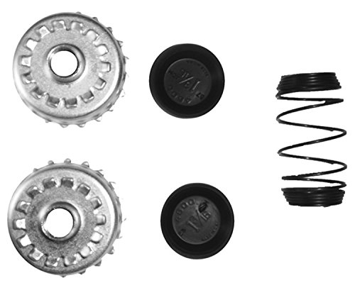 ACDelco 18G1161 Professional Rear Drum Brake Wheel Cylinder Repair Kit with Spring, Adjuster Wheels, and Caps