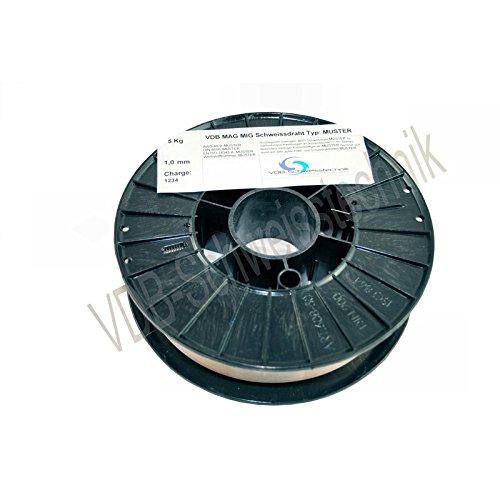 Schweißdraht MAG Edelstahl 1.4316-0,8 mm Spule - D200-4316 VA V2A - 5,0 Kg