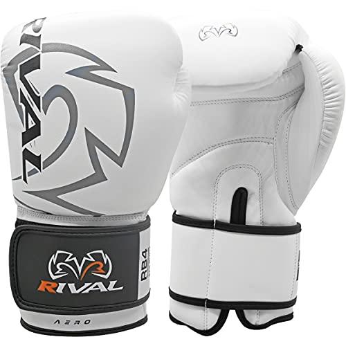RIVAL Boxing Econo Bag Gloves - 12 oz. - White