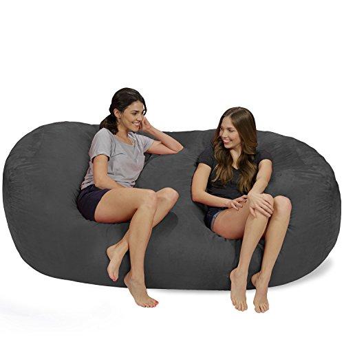 Chill Sack Bean Bag Chair: Huge 7.5