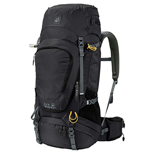 Jack Wolfskin Damen Highland Trail XT 50 Rucksack, Black, ONE Size