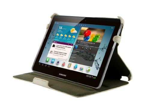 4WORLD 09106Backrest White 7' Tablet Case–Case for Tablet PC (Samsung Galaxy Tab 27Inch (7'), White)