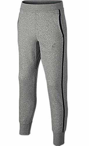 Nike Air Flash cepillado-Fleece esposada chicos pantalones Junior Gris gris Talla:medium 6-8 años