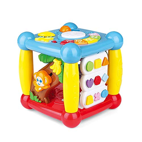 Sale!! Toddlers, Toy for Boys and Girls Learning Activity Table Music Toy 2 In 1 Early Education Toy...
