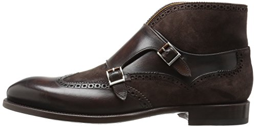 Magnanni Men's Lavon Chukka Boot, Brown, 9.5 M US