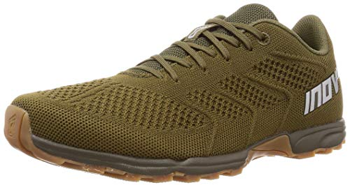 F-Lite 245 (M) - – Cross-Trainer & Fitness Shoes– Men's HIIT & Running Shoes - Khaki/Gum - 11.5