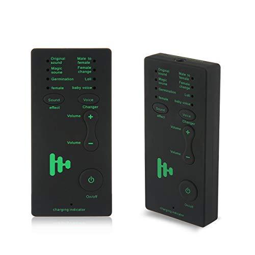 FOONEE Handy Voice Changer Gerät Mit 8 Sound-Effekt-Geschenk Für Aprilscherze