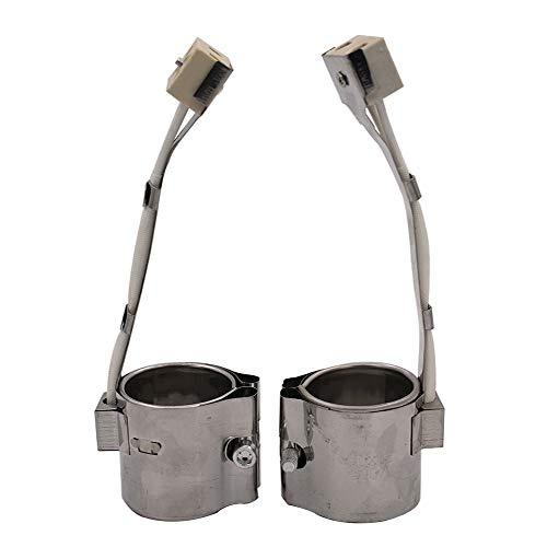 FINE MEN 3pcs 45 mm Diámetro Interior Mica Banda calefactora 30/35/40/45/50/60/70/80/100 mm Altura 220 for el plástico máquina de...