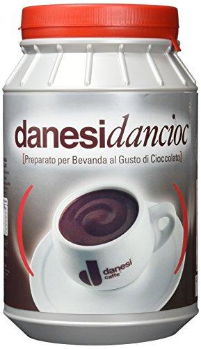 Danesi Caffè Dancioc Trinkschokolade, Pulver, 1er Pack (1 x 1 kg)