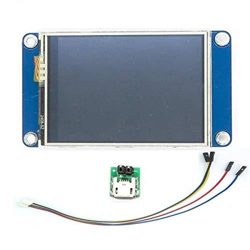 Nextion 2.4' Pantalla HMI LCD Módulo 2.4' Pulgadas TFT Panel Táctil NX3224T024 para Arduino Raspberry Pi DIYmaker