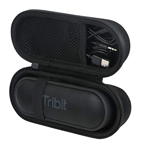 para Altavoz Bluetooth portátil Tribit XSound Go portátil, Altavoz inalámbrico EVA Duro Viaje Estuche Bolso Funda por Khanka