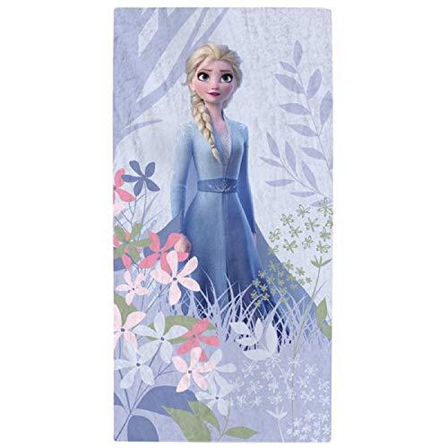 Eiskönigin Anna Elsa Olaf Frozen 2 Toalla de Ducha Toalla de Baño Toalla 70 x 140cm