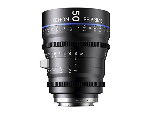 Schneider-Kreuznach 1078475 Cine Objektiv FF-Prime T2.1/50 mm, Nikon/m schwarz