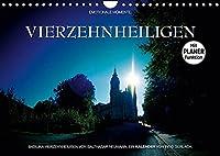 Vierzehnheiligen (Wandkalender 2022 DIN A4 quer): Die Wallfahrtskirche Vierzehnheiligen in attraktiven Bildern. (Geburtstagskalender, 14 Seiten )
