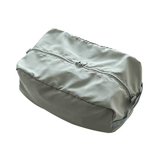 VOCD ondergoed opbergtas - opvouwbare kast ladenverdeler wasbare sok organizer opslag BH Box stoffen container voor broekjes, stropdassen en riemen - grijs