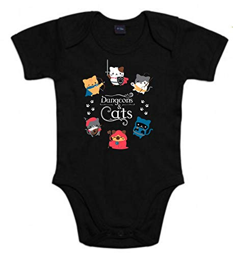 Body de NIÑOS rol D&D Gatos Dungeons and Dragons