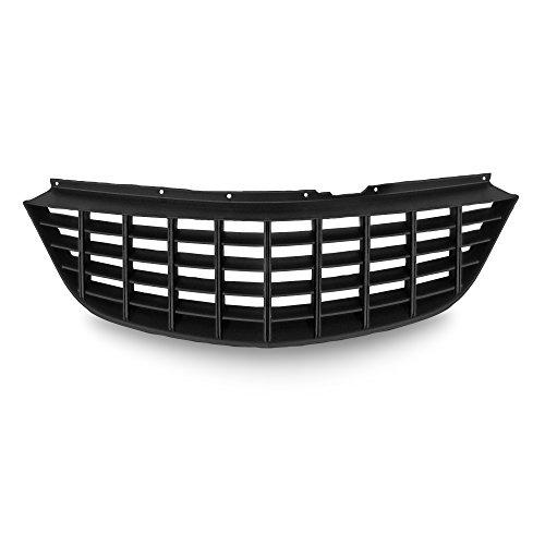 JOM 6320032OE Kühlergrill ohne Emblem, schwarz