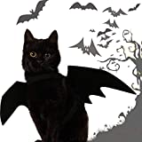 Looching Cat Costume Bat Wings for Cat Dog Halloween Bat Pet Costume