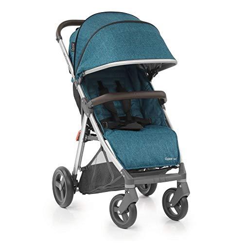 BabyStyle Oyster Zero - Silla de Paseo Ligera y Compacta - Azul/Azul Marino