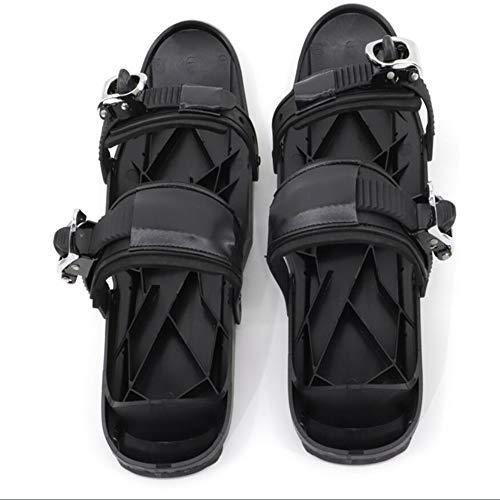 ZSTY Mini Zapatos de Botas de esquí, Tablero Corto, Snowboard liviano, fácil de Transportar y Usar, Adecuado para la mayoría de los Adultos