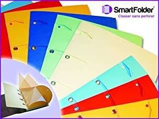 SMARTFOLDER Pack 6 chemises Naturel